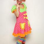 Marie-Popette Clown lunettes