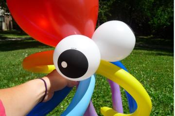 Les sculptures de ballons